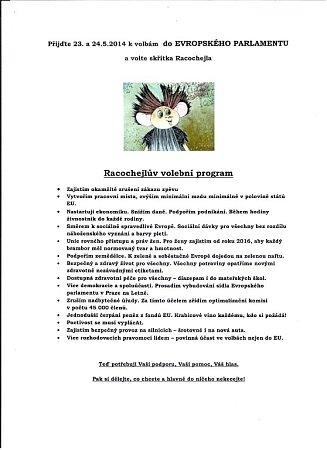 Racochejlův volební plán