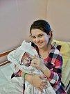 Viktorie Hánová se narodila 3. ledna v8:17 mamince Lucii a tatínkovi Martinovi ze Skořic. Po příchodu na svět vplzeňské FN vážila jejich prvorozená dcerka 2730 gramů a měřila 49 centimetrů.