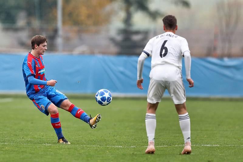 Zápas FC Viktoria U19 s Realem Madrid.