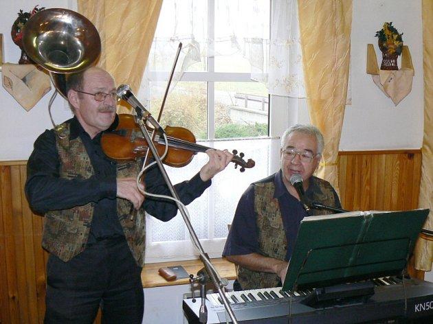 EVERGREEN KLASIK: Jan Ježek (vlevo) a Jaroslav Špelina