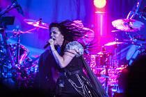 Koncert Evanescence v Plzni.