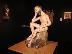 Dřevěná socha Odpočívající Kristus pochází   z let 1510 – 1520. Umístěna byla v kostele Panny Marie Bolestné v krušnohorském Bohosudově.