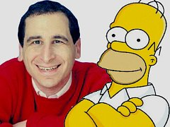 Mike Reiss a Homer Simpson