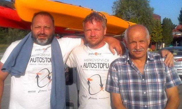 Kamarádi dojeli autostopem až do Bulharska