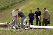 Nehoda letadla na letišti v Letkově