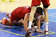 házená předkolo poháru EHF Talent Plzeň x Olympiacos Pireus (Řecko)
