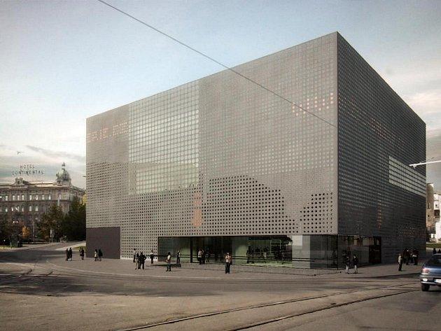 Vizualizace budovy Západočeské galerie