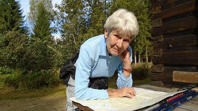 Zdena Hůrková oslaví v úterý 7. července 90 let.