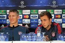 Tisková konference FC Bayern Mnichov před utkáním s Viktorií Plzeň