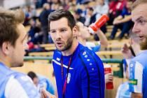 Trenér Petr Kučera.