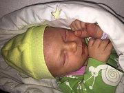 Aloisie Řičicová z Klatov (2850 g, 47 cm) se narodila v klatovské porodnici 25. prosince v 0.27 hodin. Rodiče Jana a Radek přivítali očekávanou dceru společně na svět. Na sestřičku se doma těší Josefínka (3 roky).