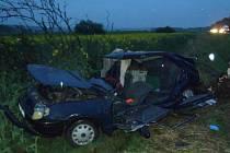Při neodě u Všerub se vážně zranila 27letá řidička