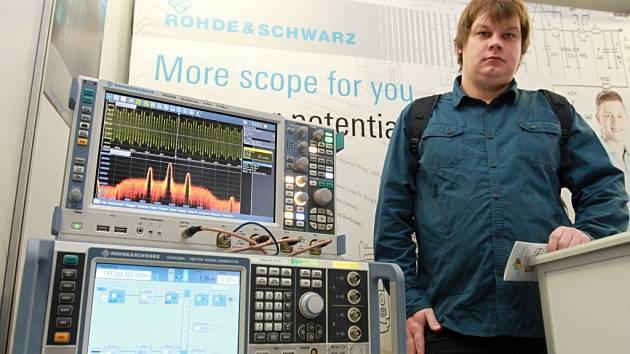 Petr Beran hledal zaměstnání na letošním 21. veletrhu pracovních příležitostí na ZČU.