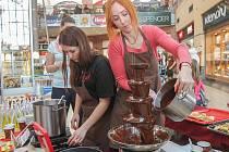 Čokoládový veletrh v plzeňské Olympii