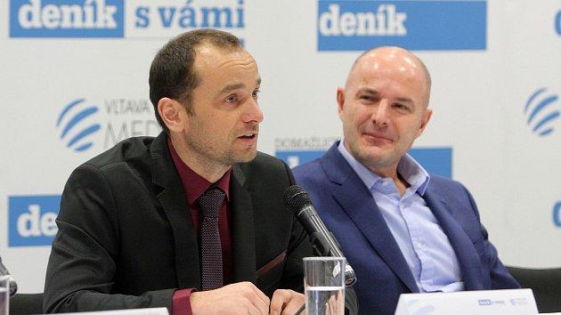 Debata zástupců firem a institucí Plzeňského kraje s hejtmanem Josefem Bernardem