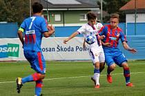 Dorostenecká Liga mistrů Viktoria - CSKA Moskva v Přešticích.