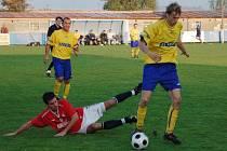 V nefotbalové pozici se v utkání desátého kola divize proti Benešovu ocitl klatovský Jaroslav Cihlář