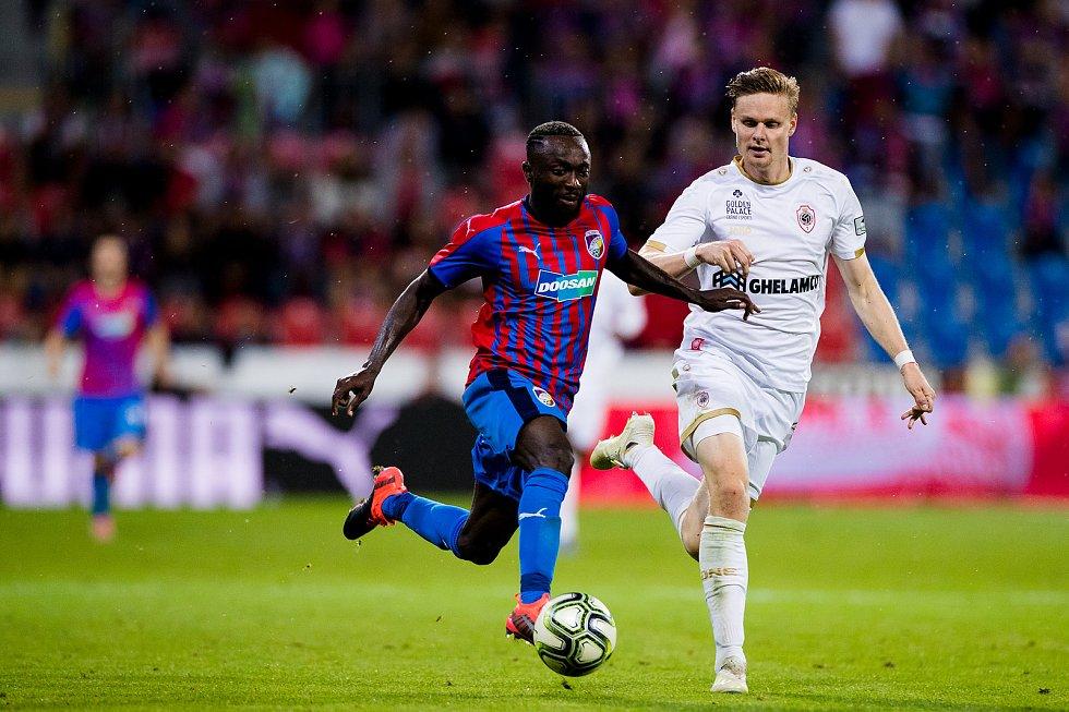 Konžský záložník Joel Kayamba nastoupí v dresu Plzně podruhé proti Opavě.