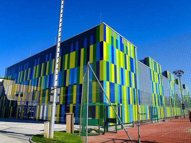 Nová sportovní hala v Plzni-Slovanech
