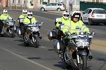 Západočeská dopravní policie představila nové policejní motorky