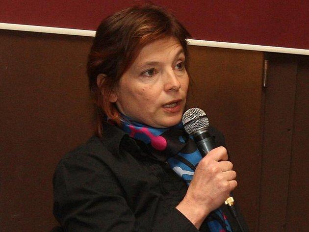 Bývalá umělecká ředitelka plzeňského kulturního týmu Yvonna Kreuzmannová.
