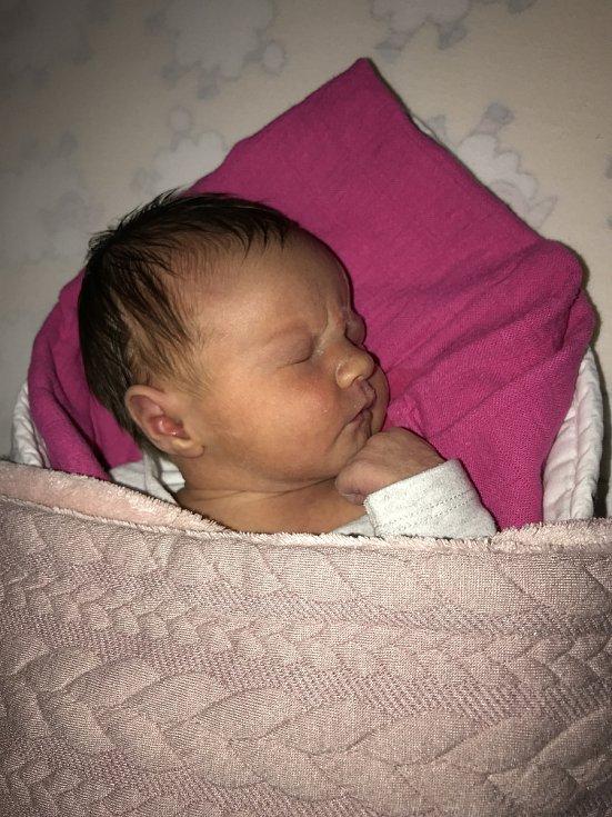 Ela Švelchová z Mokrosuk se narodila v klatovské porodnici 8. dubna v 8:30 hodin (3360 g, 49 cm). Rodiče Marie a David věděli dopředu, že jejich druhorozeným miminkem bude holčička. Na malou sestřičku se doma těší Julie (20 měsíců).