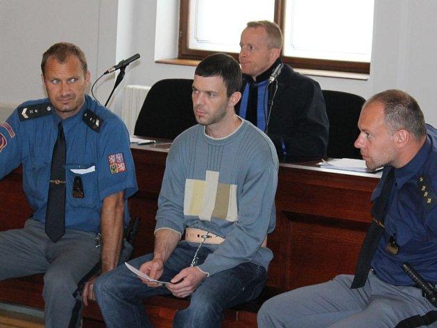 Jiří Maťha u soudu