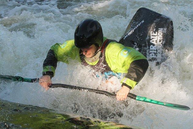 Závody ve vodním rodeu u Kalikováku