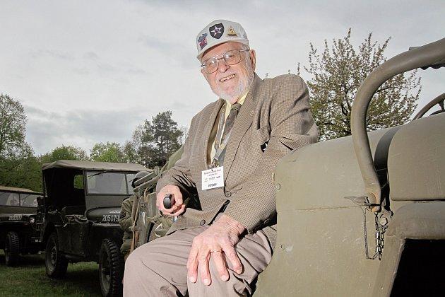 Americký veterán James Duncan.