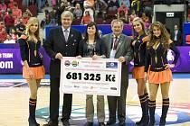 I při MS družstev žen do 17 let v Plzni a v Klatovech bude probíhat charitativní projekt All Baskets Count (Každý koš pomáhá).  Při MS žen v České republice před čtyřmi lety se podařilo získat pro charitativní účely 681 325 korun