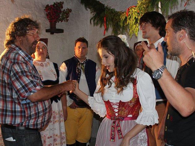 Hostem festivalu bude i režisér Zdeněk Troška (na snímku z natáčení pohádky Čertoviny).