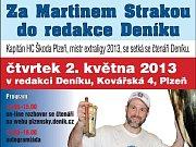 Martin Straka s pohárem vítěze extraligy