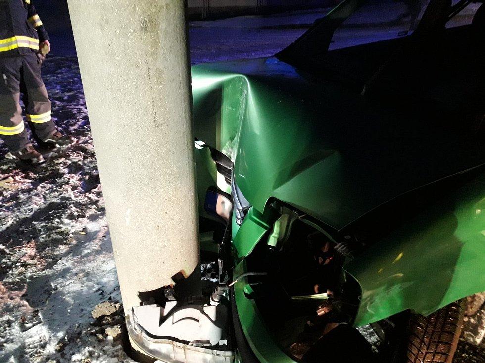 Nehoda v Dobřívě, 3. 12. 2020