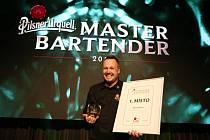 Nejlepší výčepní plzeňského piva za rok 2018 Richard Máša z brněnské pizzerie Tusto.