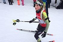 Denisa Brunátová je novou českou vicemistryní ve sprintu mladších žákyň.
