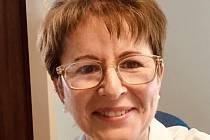 MUDr. Ivana Sováková, vedoucí lékařka Oční kliniky Fakultní nemocnice Plzeň.