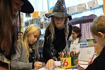 Strašidla v Obvodní knihovně Doubravka