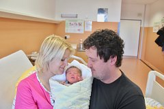 Čeněk Kuneš se narodil 16. února v 8:17 mamince Táně a tatínkovi Martinovi z Chlumu u Blovic. Po příchodu na svět v klatovské porodnici vážil jejich prvorozený syn 3100 gramů a měřil 48 centimetrů