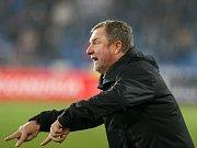 FC Baník Ostrava - FC Viktoria Plzeň. Na snímku trenér Plzně Pavel Vrba