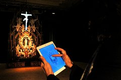 Vynález umělců Dana Gregora a Tomáše Dvořáka představili v plzeňském DEPO2015 jako jednu zvěcí, jež příští rok nabídne interaktivní výstava Zabarokem.