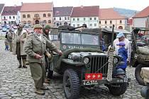Konvoj historických vozů v Nepomuku