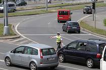 Křižovatku U Jána řídí policisté