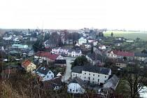Nejkrásnější pohled na obec je podle starosty z místa, kde kdysi stával hrad