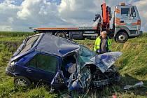 Nehoda u Kasejovic si vyžádala lidský život
