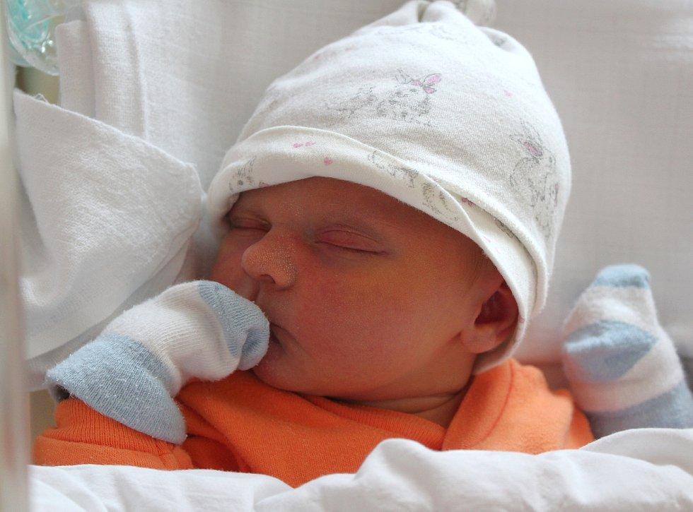 Lucie Kovářová z Plzně se narodila v porodnici na Lochotíně 7. září ve 12:26 hodin (3390 g). To, že jejich prvorozené miminko bude holčička, věděli rodiče Nataša a Martin předem.