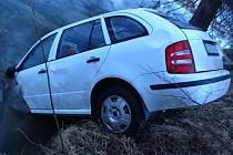Pondělní ranní nehoda v Přešticích.