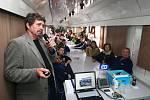 Ve čtvrtek byl na plzeňském hlavním nádraží k vidění preventivní vlak