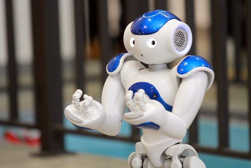 Robot s poetickým jménem Romeo umí mluvit i poslouchat a dokáže se dokonce protáhnout, zacvičit si a projít se.