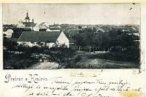 Historická pohlednice z Kralovic.