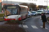 Kolony ve Francouzské ulici v Plzni